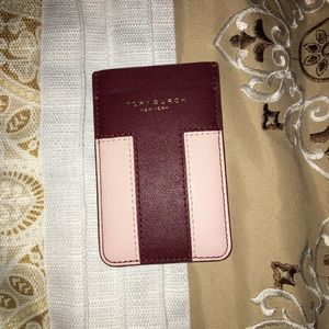 Tory Burch Cell Phone Card Holder NWT